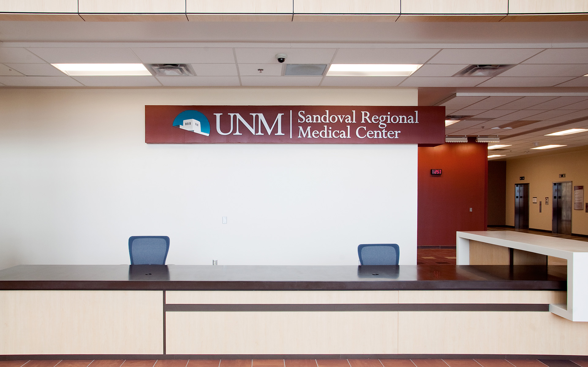 UNM SRMC Branding