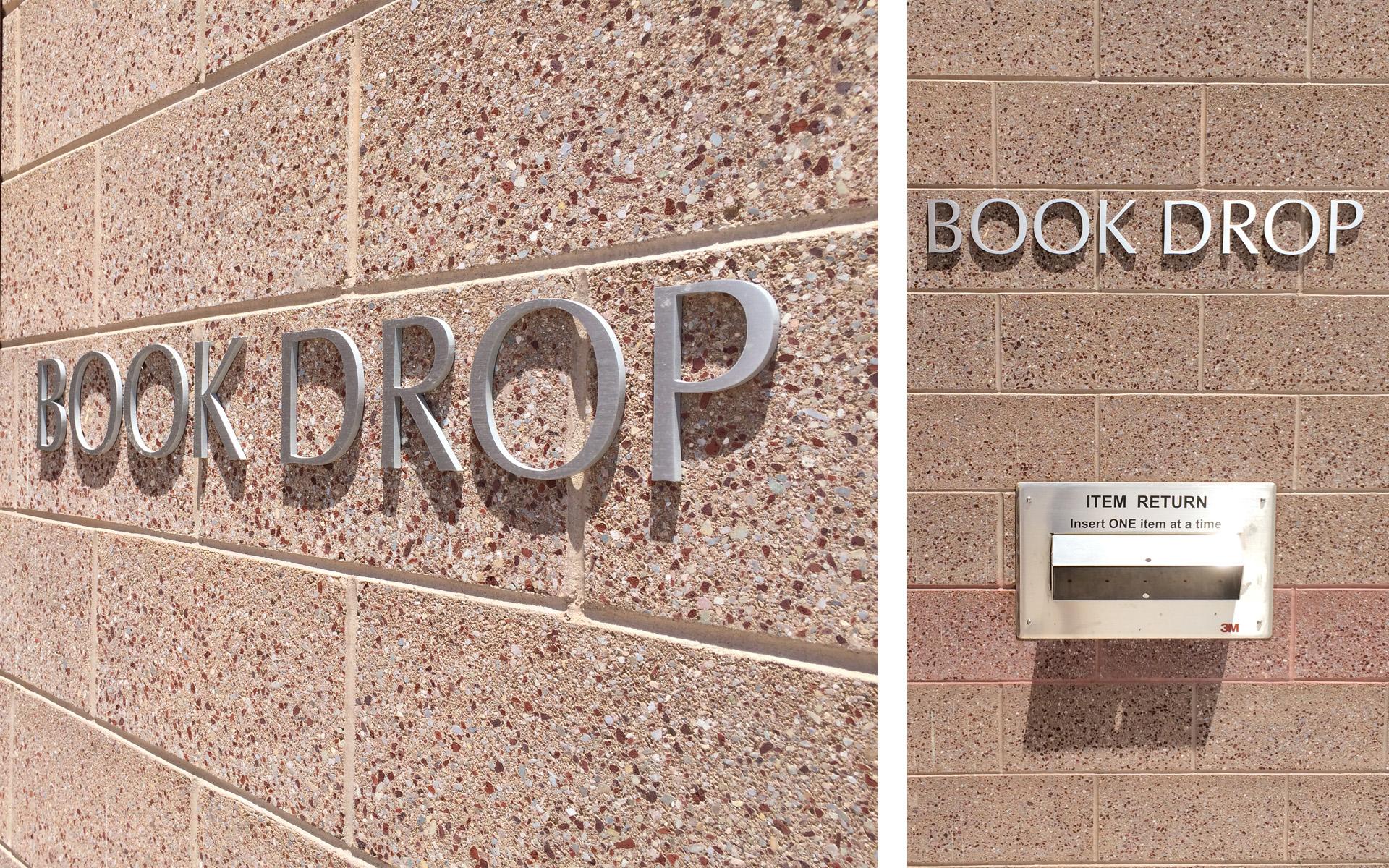 Artesia Public Library Flat Cut Natural Satin Aluminum