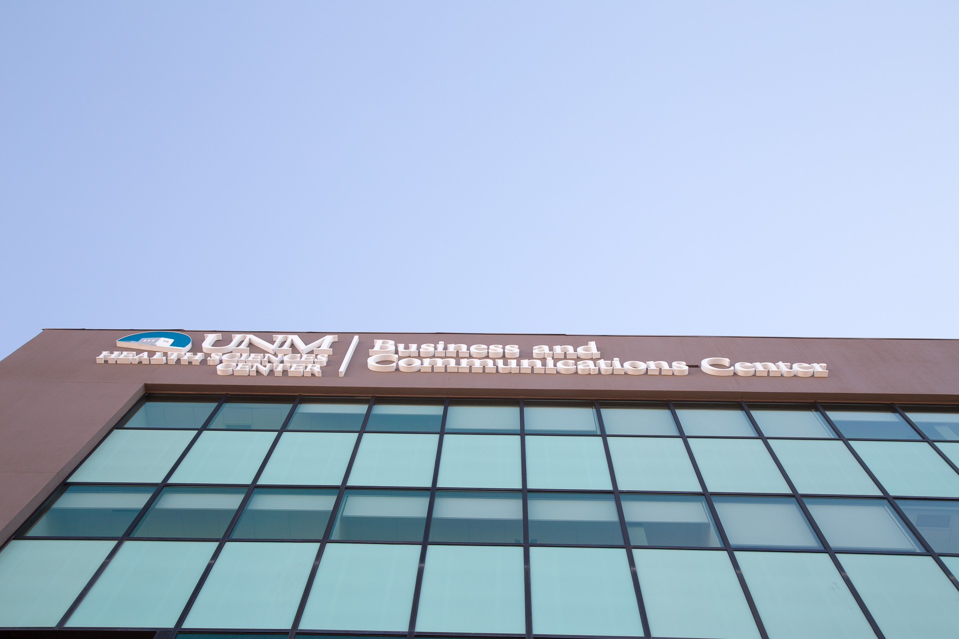 UNMH Business Communication Center - Front Lit Channel Letters