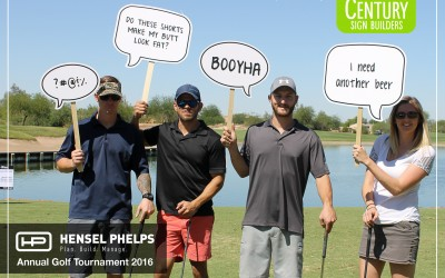 Hensel Phelps Annual Golf Tournament 2016
