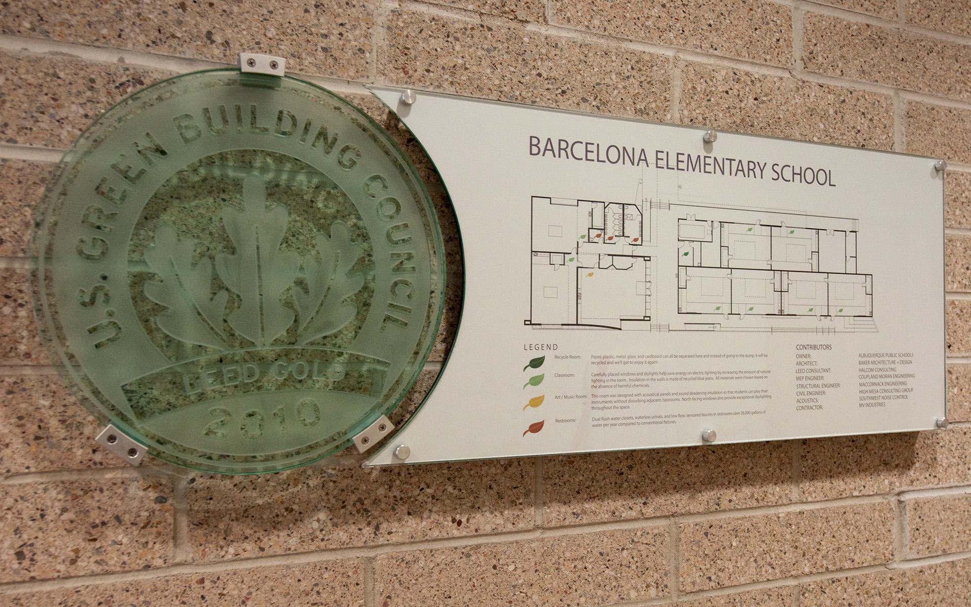 Barcelona Elementary LEED