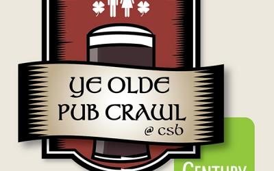 St Patty's Day Ye Olde Pub Crawl 2013