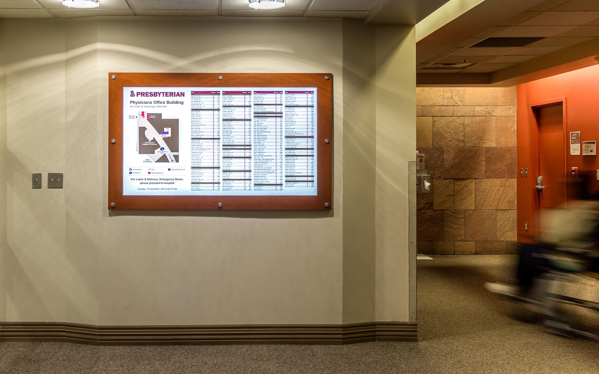 Presbyterian Hospital Digital Directory