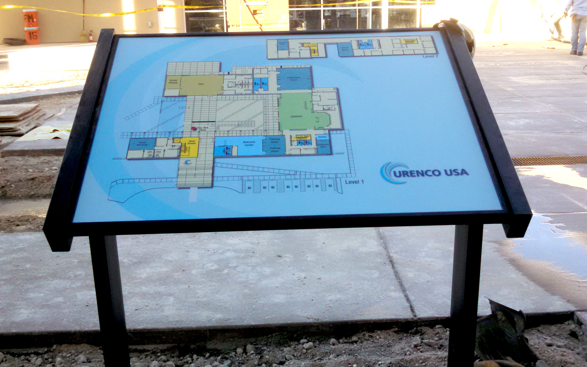 Urenco Campus Commons Map